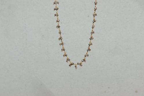 Collier I Braune Diamanten