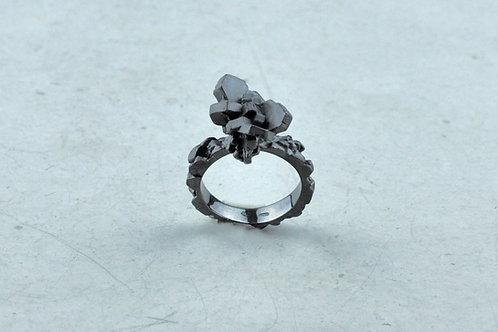 Ring mit Kopf | Kollektion Mineral