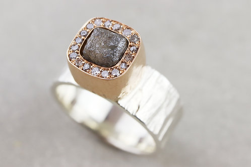 Ring Rohdiamant | Unikat