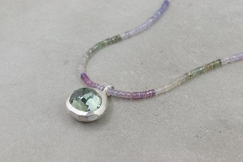 Halskette mit Saphiren I Kollektion Rock