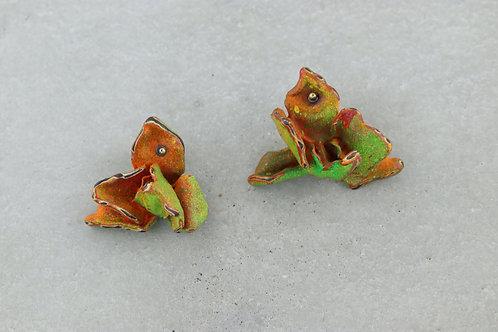 Ohrschmuck dried flowers