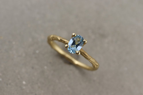 Ring mit Aquamarin I Kollektion Ast