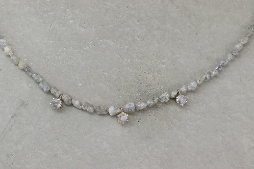 Collier I Gray Raw Diamonds