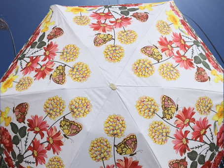 New Product: Floral Sunshade Umbrella