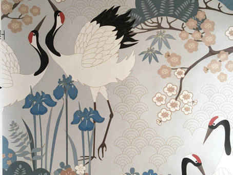 New Wallpaper from JGD: Japanese Garden in Gray