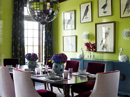 How to use colours skillfully in your interiors -  Fearless Decorator Feature: Katie Ridder