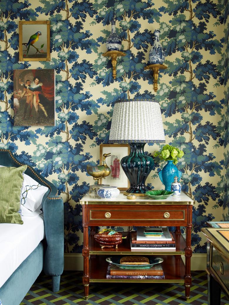 Interior design by Alex Papachristidis on Judit Gueth's blog