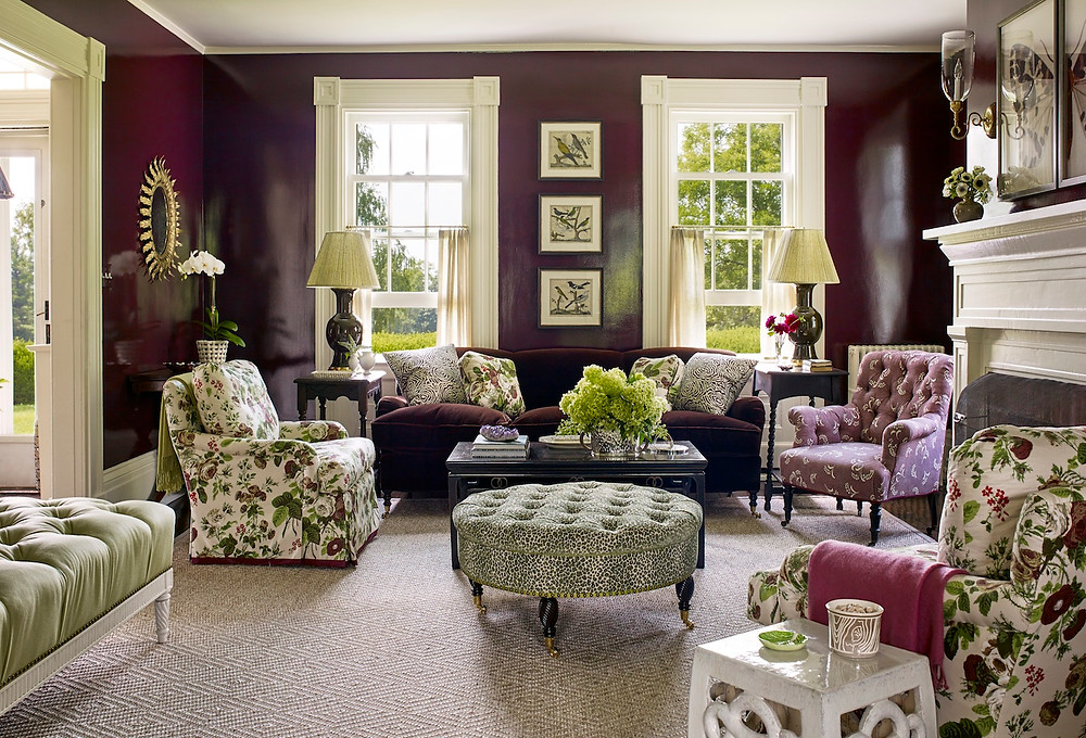 I love the rich yet fresh colour combo in this room! Image: Ashley Whittaker Design