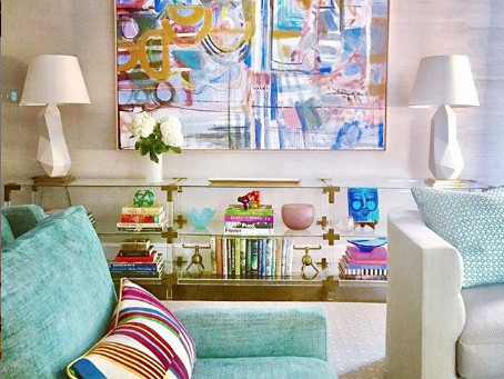 How to Mix Patterns Skillfully - Fearless Decorator Feature: Charlotte Lucas