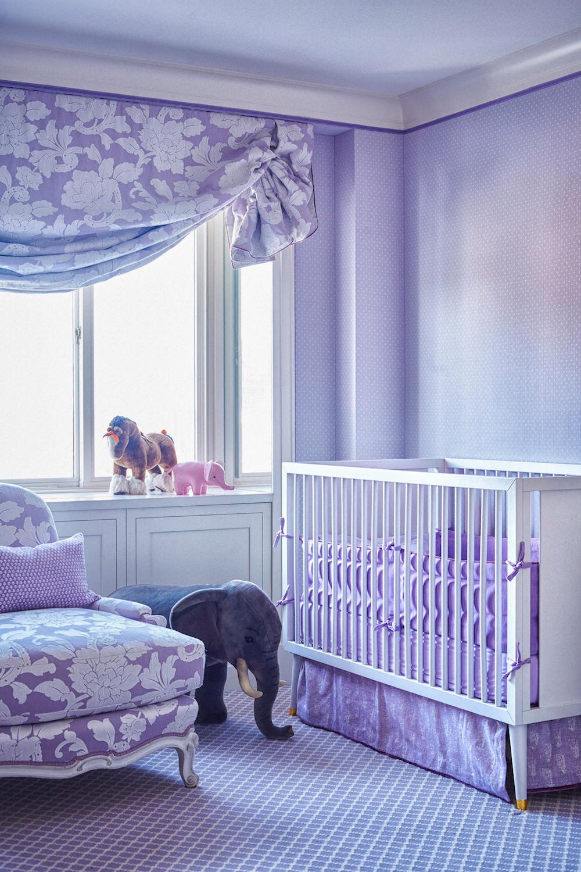 Purple nursery by Alex Papachristidis