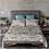 Thumbnail: Pillow Sleeve RIGHT side - Cotton Sateen - Japanese Garden Grey