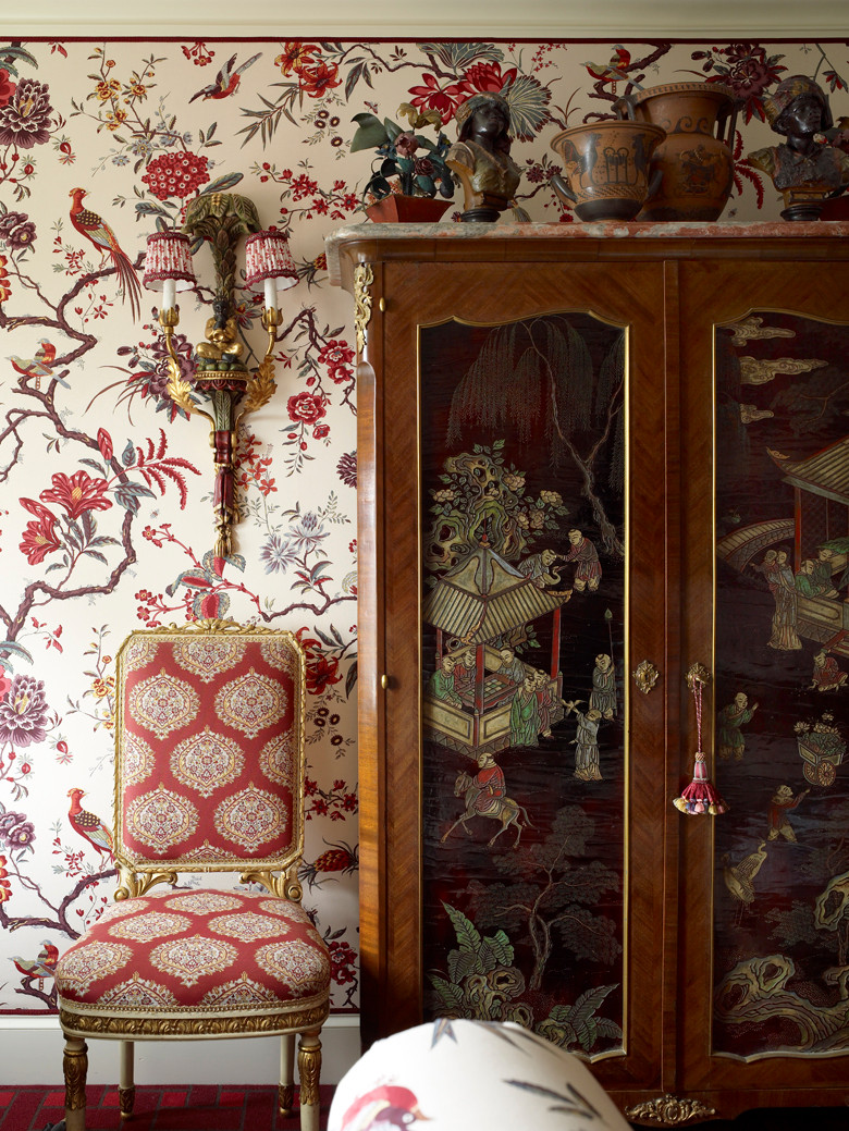 A perfect mix of patterns Image: Alex Papachristidis on Judit Gueth's blog