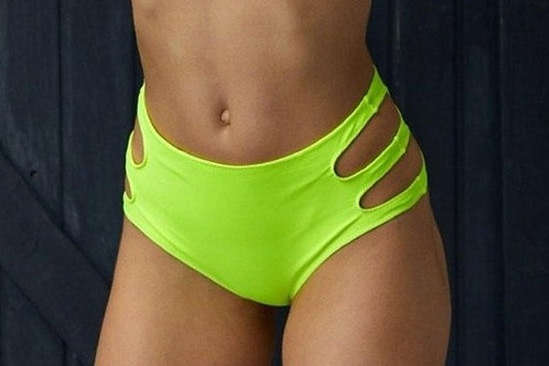 Cheeky - Yellow (Pole-Shorts)