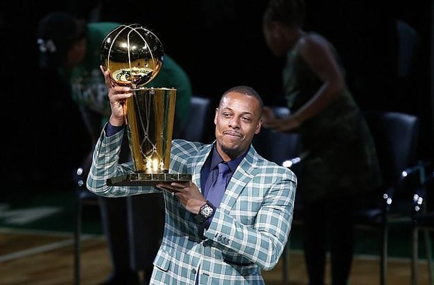 sports shoes 649cd 7303a Celtics Retire Paul 'The Truth' Pierce's Jersey