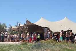 Stretch Tent, Stretch Tent hire
