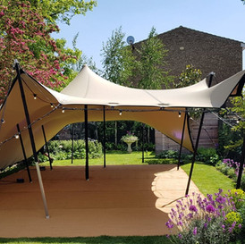 Stretch Tent for a private party