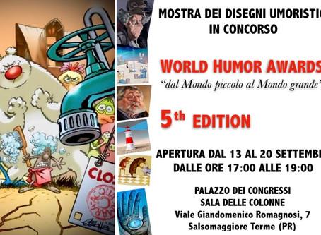 5^ EDIZIONE DEI WORLD HUMOR AWARDS