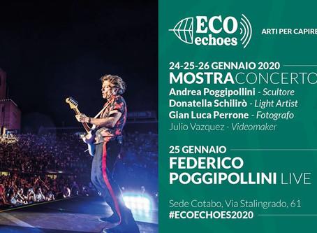 MOSTRACONCERTO ECO ECHOES 2020: 24-25-26 GENNAIO 2020