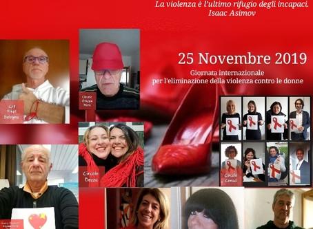 25 NOVEMBRE: LA VIOLENZA NON È SOLO FISICA
