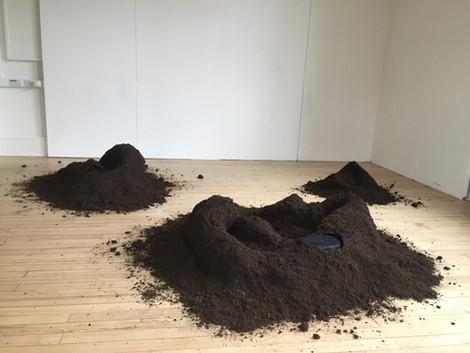 'Found Across Other Ebbs', Fine Art MA Degree Show Work, 2020
