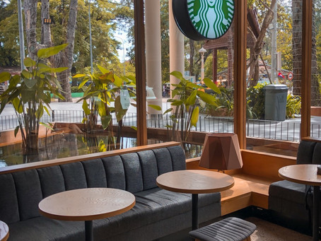 Hosting a business meeting? Find out if Starbucks or a meeting room works best for you!