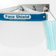 Face Shield with Disposable Mask