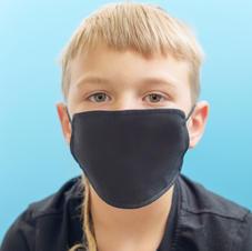 Youth Black Mask
