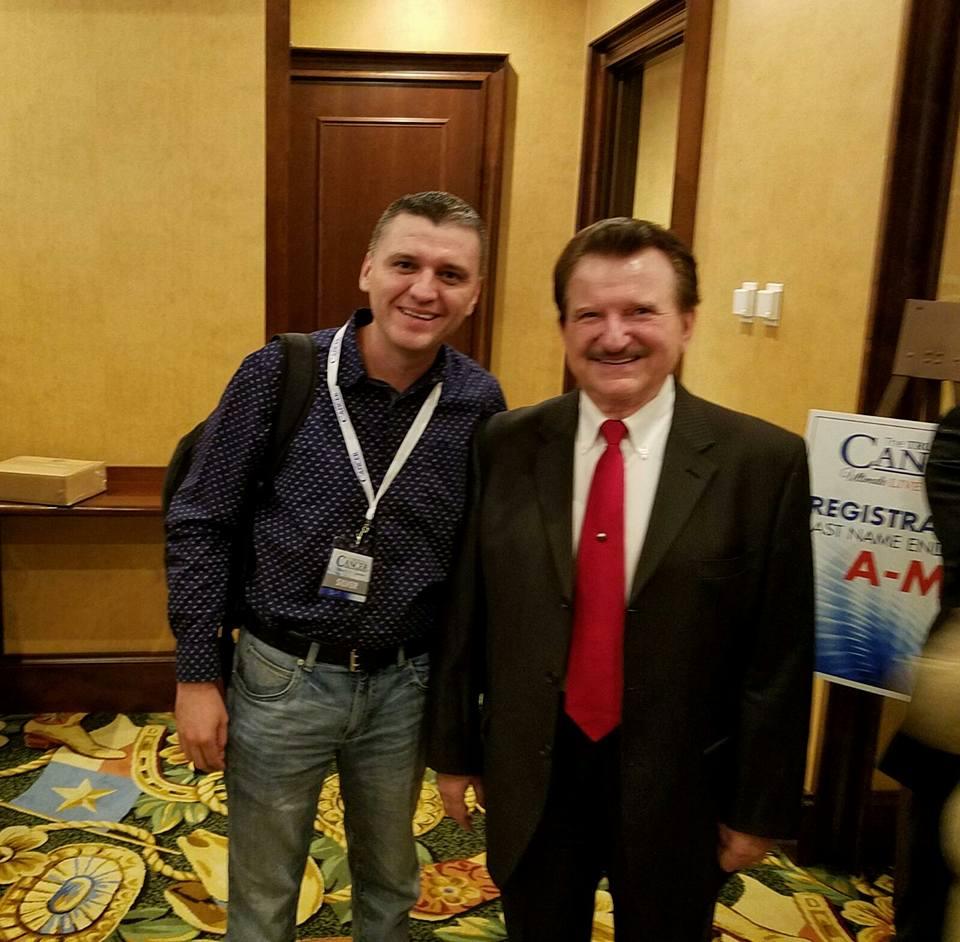 Con el Dr. Burzynsky