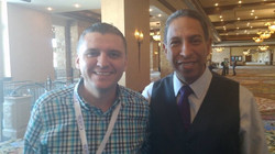 Con el Dr. Tony Jimenez