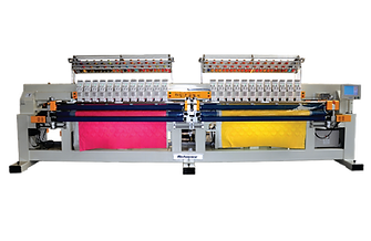Multi Color Double Roll Quilting Machine
