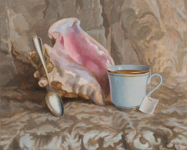 Still Life with Cup of Tea
