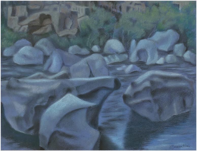 Rock Kingdom on Destchutes River