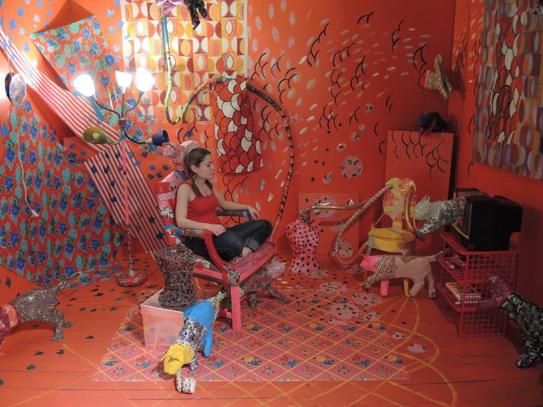 Freya's Red Room, Meditating