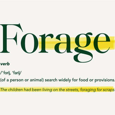 FORAGE FOR FOOD