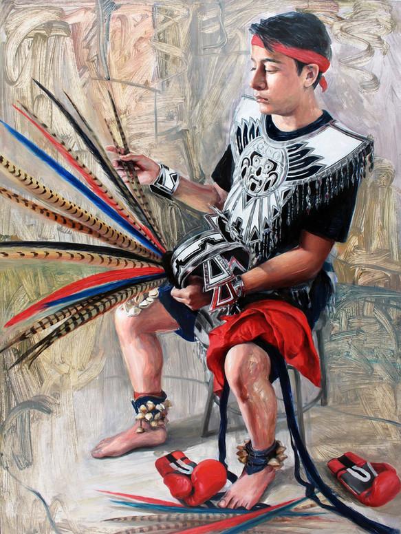 Reynaldo in Aztec Armor