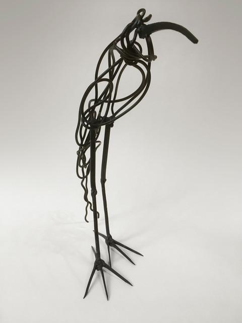 Scrap Wire Bird #1