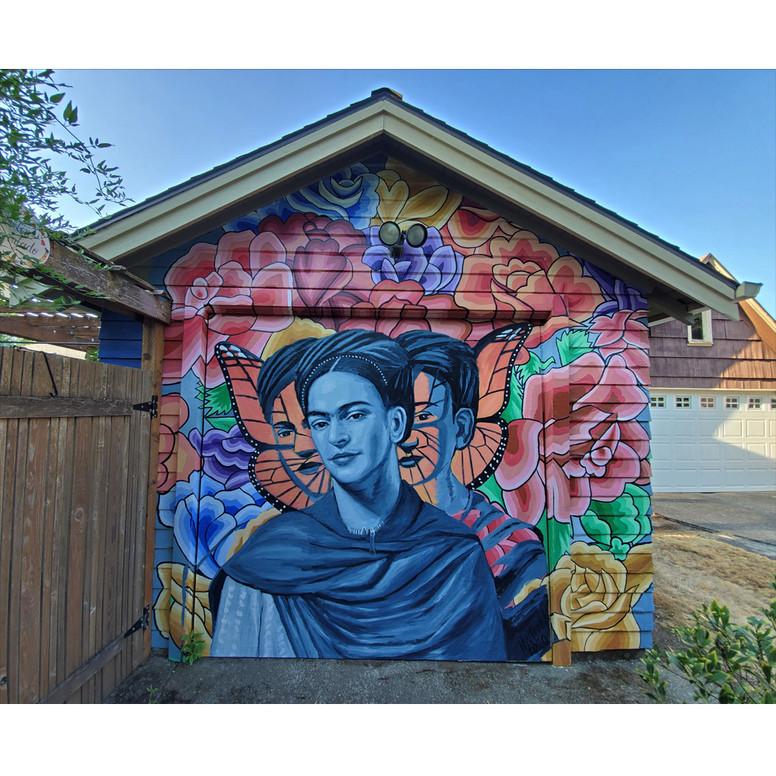 Metamorphosis of Frida