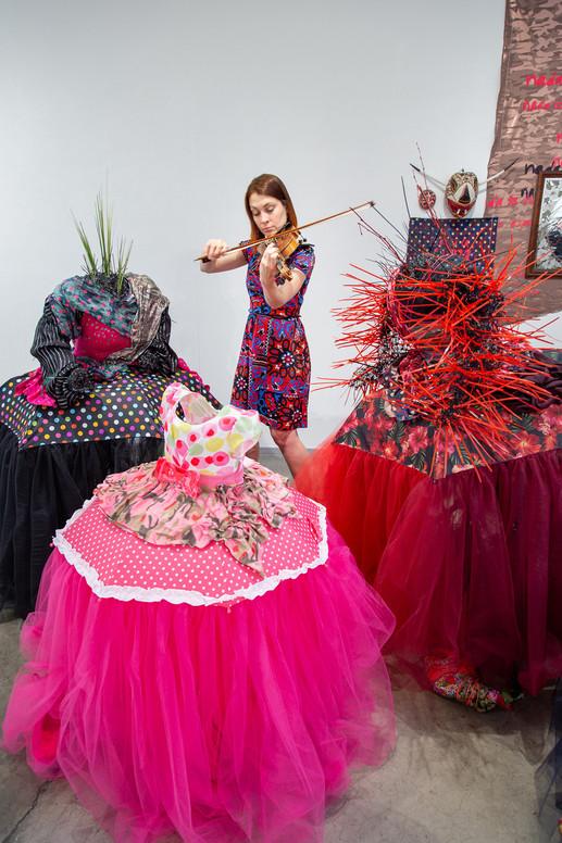 Fantasia Las Meninas installation