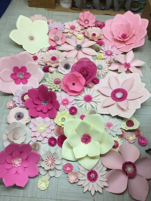Custom Paper flowers