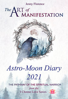 Astro-Moon Diary Cover 2021 front cover