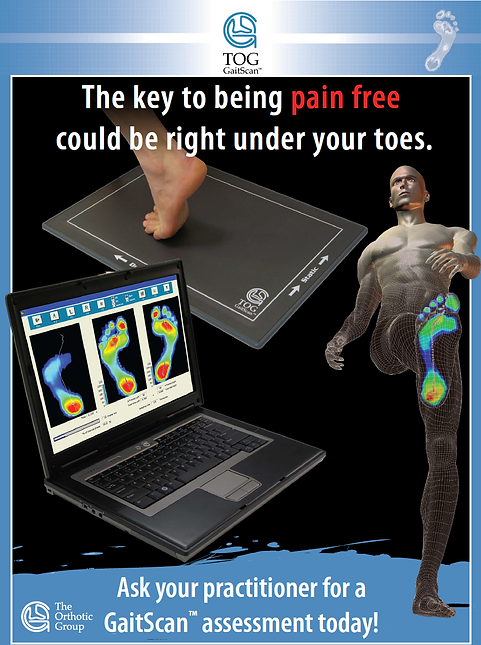 Gait Scan, orthotics