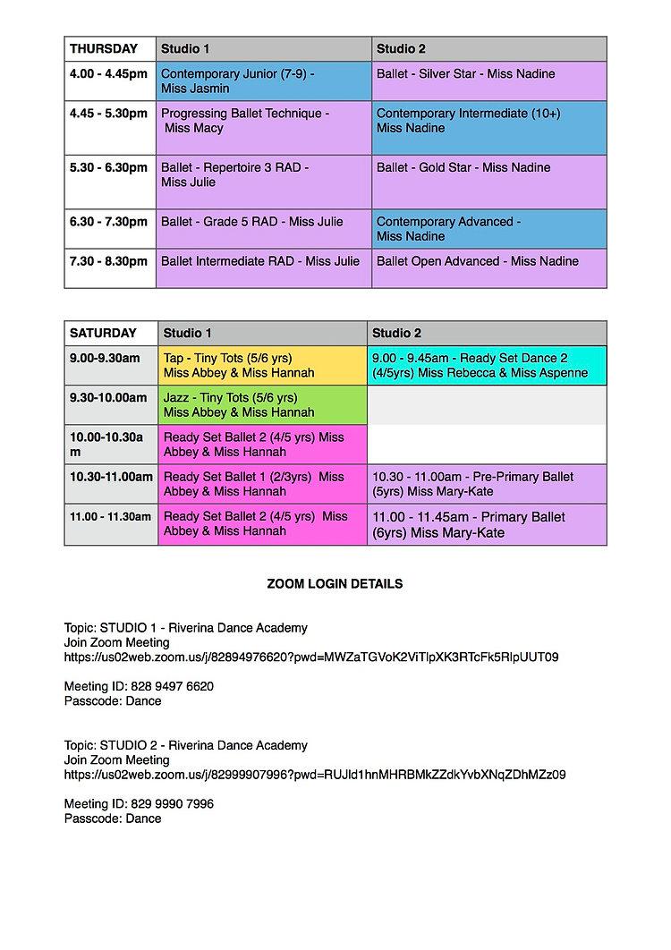 RDA Timetable Term 2, 2021 week 8-10page