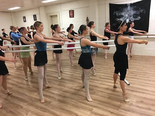 Open Advanced Ballet - Monday 6.00pm to 7.00pm