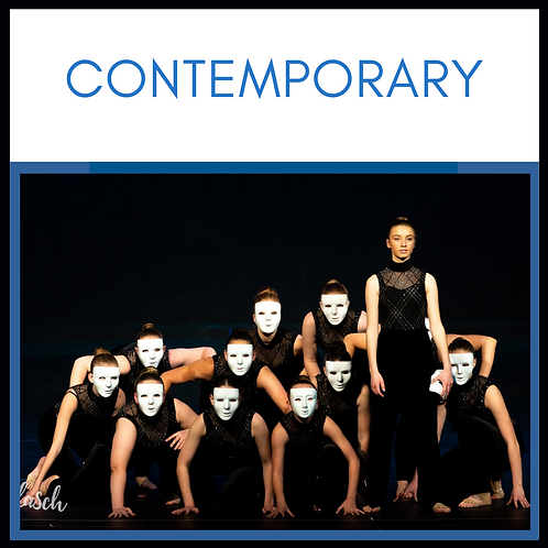 Contemporary - Advanced THURSDAY 5.30pm to 6.15pm