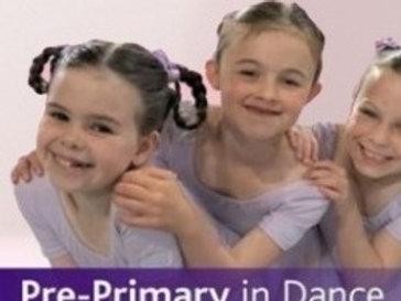Pre Primary Ballet SATURDAY - 10.30am to 11.00am