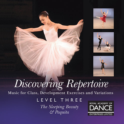 RAD Repertoire 3  Thursday 5.30pm to 6.30pm