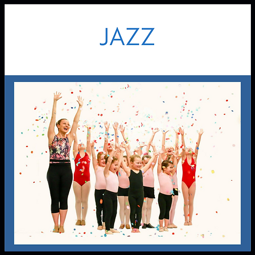 Jazz 1 - TUESDAY 4.00pm to 4.45pm