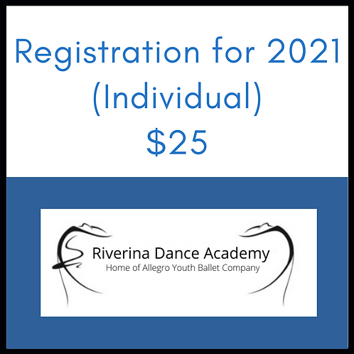 Registration for 2021 (Individual)