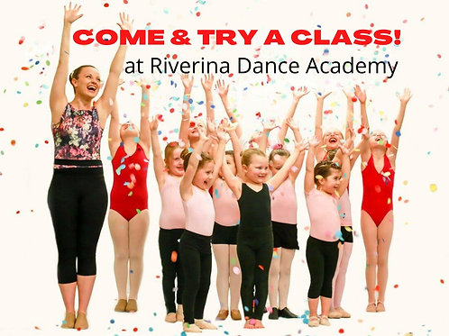 If you are not a registered student of RDA - you can come and try a class - free