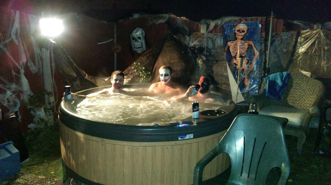 HAUNTED HOT TUBS